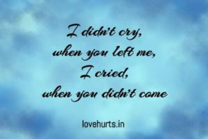Read more about the article Love Hurts Quotes
