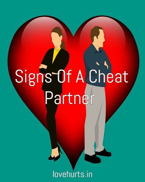 Signs Your Partner Is Cheating On You