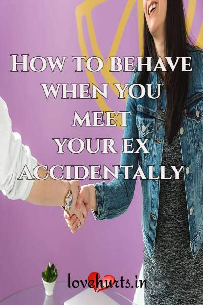 How To Behave With Your Ex