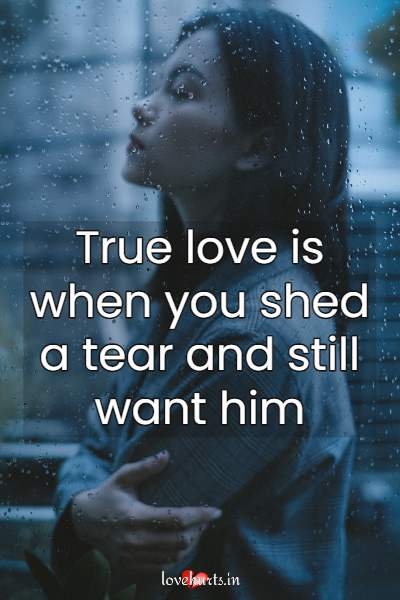 quotes on love pain