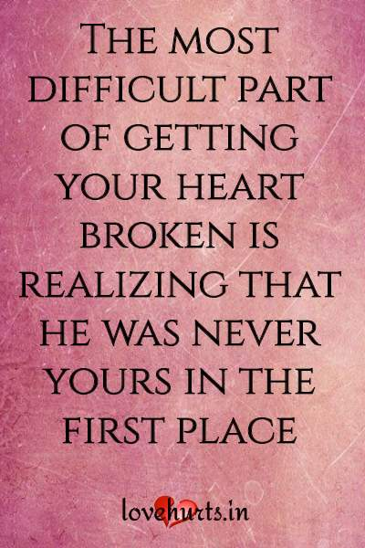 Heart Pain Quotes