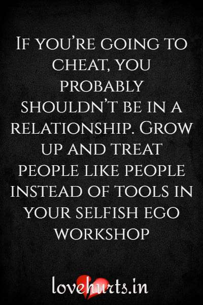 Cheating Quotes On Relationship