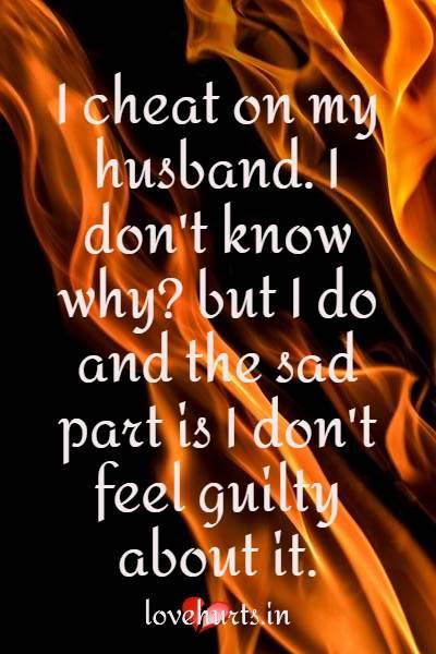 I Cheat On My Husband
