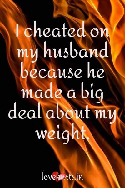 I Cheated On My husband
