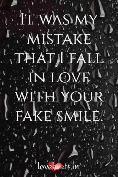 Love Is Fake Quotes And Sayings