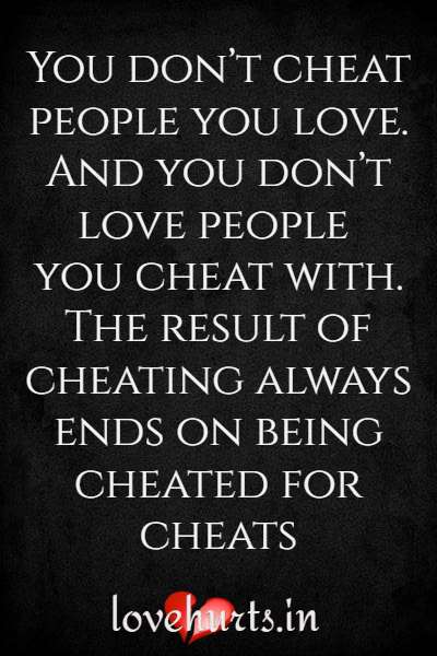 Quotes About Being Cheated On