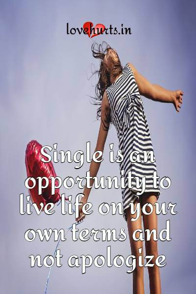 Read more about the article 63 Best Single Life Quotes And Sayings