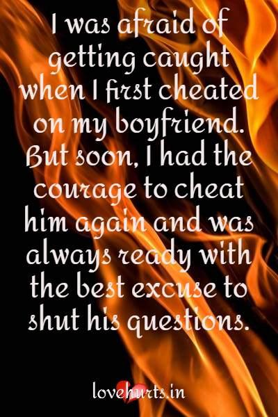 Cheat Confessions