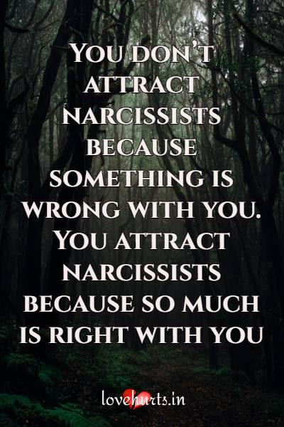 Deep Quotes On Narcissists