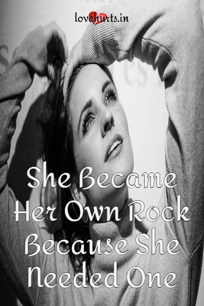 Read more about the article She Became Her Own Rock – Because She Needed One