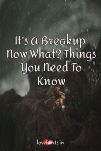 Read more about the article It's A Breakup – Now What? Things You Need To Know